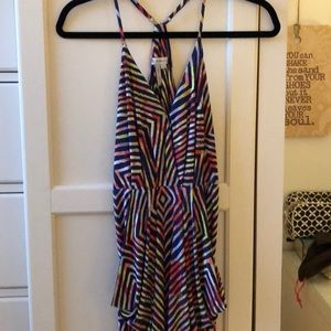 BCBGeneration multi color mini dress.
